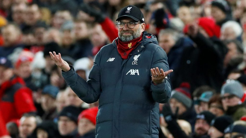 Jürgen Klopp, técnico del Liverpool. (Foto: Reuters)