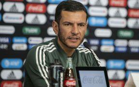 Jaime Lozano, técnico de la selección mexicana Sub 23. (Foto: Mexsport)