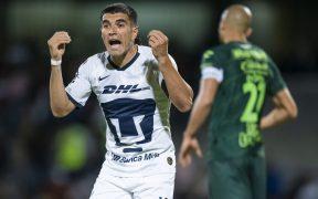 Ignacio Malcorra, delantero de Pumas. (Foto: Mexsport)