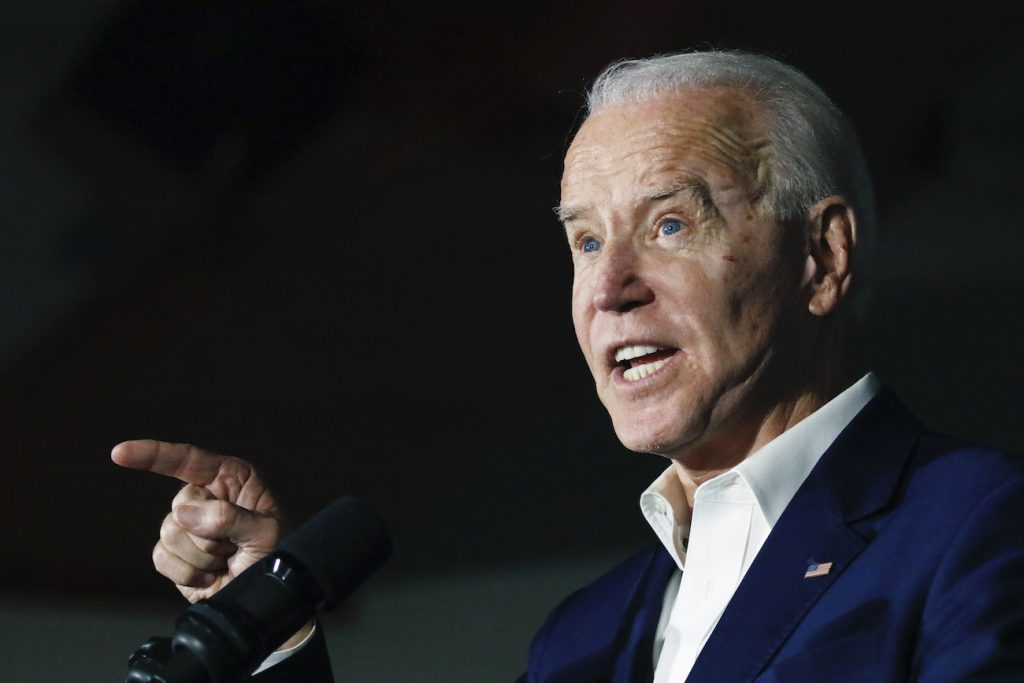 Grupos de control de armas respaldan candidatura de Biden