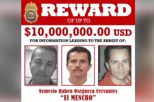"""""""El Mencho"""", el criminal más poderoso del mundo: DEA"""
