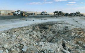 Impactan 15 cohetes en una base militar iraquí; habría tres muertos