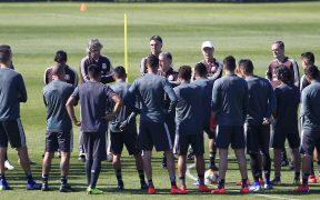 Entrenamiento de la Selección Mexicana. (Foto: Mexsport)