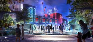 Avengers Campus Disneyland Resort