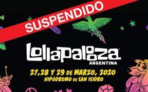 Suspenden Lollapalooza Argentina