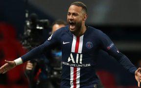 Neymar celebra un gol con el PSG. (Foto: EFE)