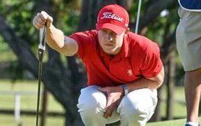 Victor Lange, golfista sudafricano. (Foto: Instagram)