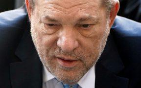 Harvey Weinstein dio positivo al coronavirus, reportan medios
