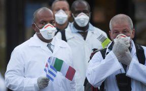 Cuba envía médicos a Italia para frenar el coronavirus