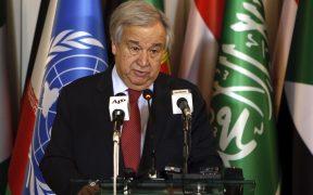 ONU exige unidad entre líderes mundiales ante la pandemia por Covid
