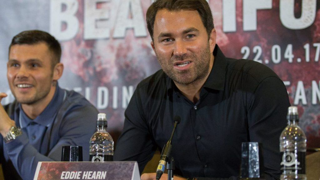 Eddie Hearn, promotor de boxeo. (Foto: EFE)