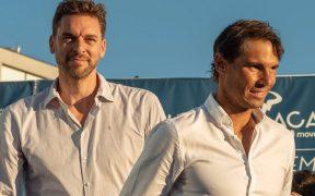 Paul Gasol y Rafael Nadal recaudarán fondos para luchar contra el coronavirus. (Foto: EFE)