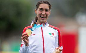 Mariana Arceo es campeona panamericana de pentatlón. (Foto: Mexsport)