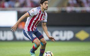Rodolfo Pizarro, en acción con el Guadalajara. (Foto: Mexsport)