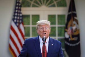 """Trump dice haber identificado casos de """"acaparamiento"""""""