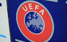 Logo de la UEFA. (Foto: Shuterstock)