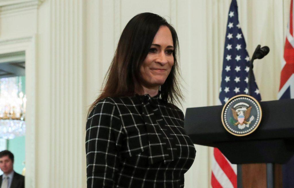stephanie-grisham-sale-como-secretaria-de-prensa-de-la-casa-blanca