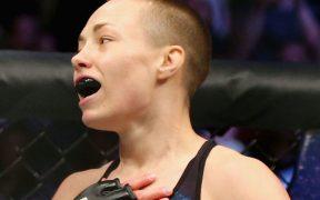 Rose Namajunas se retira del evento de UFC 249. (Foto: Twitter)