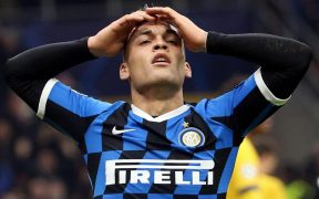 Lautaro Martínez, delantero del Inter de Milán. (Foto: EFE)