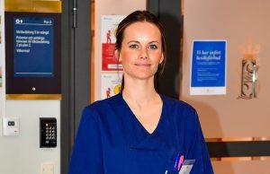 princesa-Sofía-suecia-trabaja-voluntaria-hospital-Covid-19