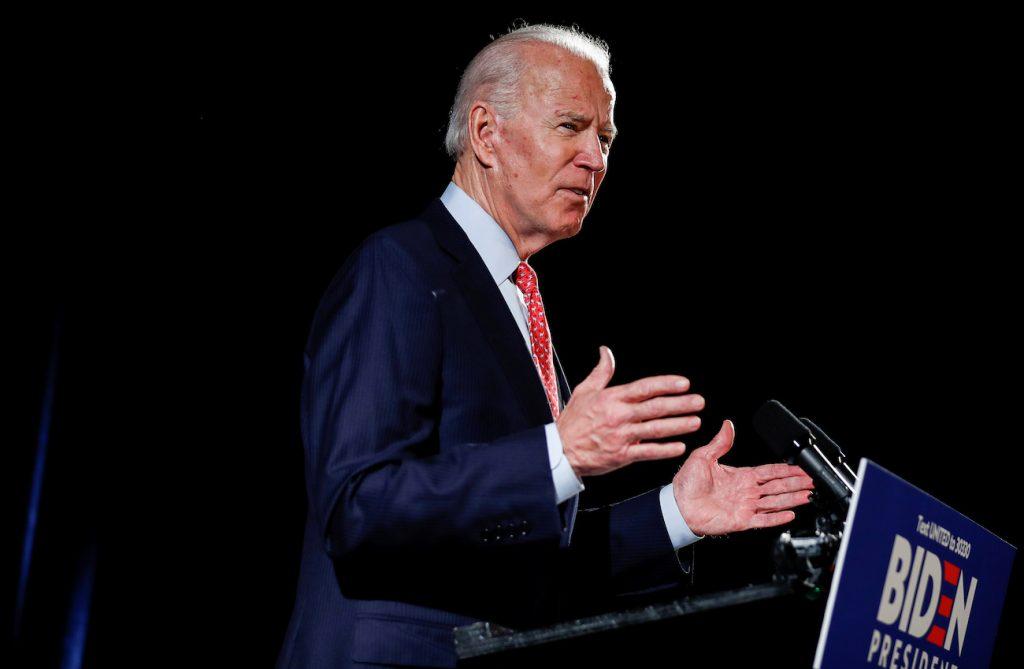 Joe Biden gana el caucus de Wyoming
