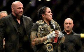 Amanda Nunes, peleadora brasileña de UFC.