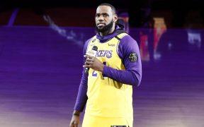 LeBron James, principal figura de los Lakers. (Foto: EFE)