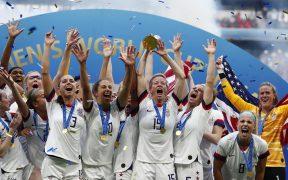 La selección femenil de Estados Unidos es campeona del Mundo. (Foto: EFE)