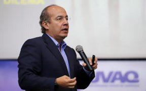 """Calderón responde a AMLO y dice que """"la justicia no es un asunto de consultas"""""""