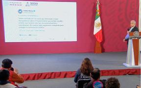 López Obrador habló sobre las noticias falsas y cómo afectan durante la pandemia. Foto: Presidencia