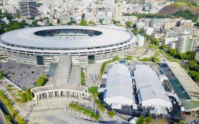 El estadio Maracaná de Río de Janeiro inauguró el pabellón designado al hospital de campaña. (Foto: EFE)