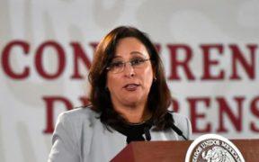 La secretaria de Energía (Sener), Rocío Nahel