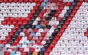 Los aficionados podrían volver a los estadios en Alemania. (Foto: EFE)