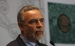 El líder nacional de Morena, Alfonso Ramírez Cuéllar