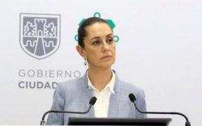La jefa de Gobierno Claudia Sheinbaum