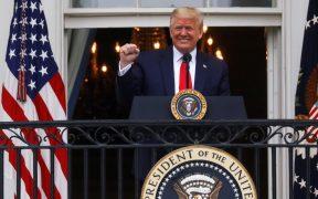 Trump afirma que dejó de tomar hidroxicloroquina