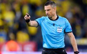 El árbitro esloveno Slavko Vincic fue detenido por trafico de drogas y armas.