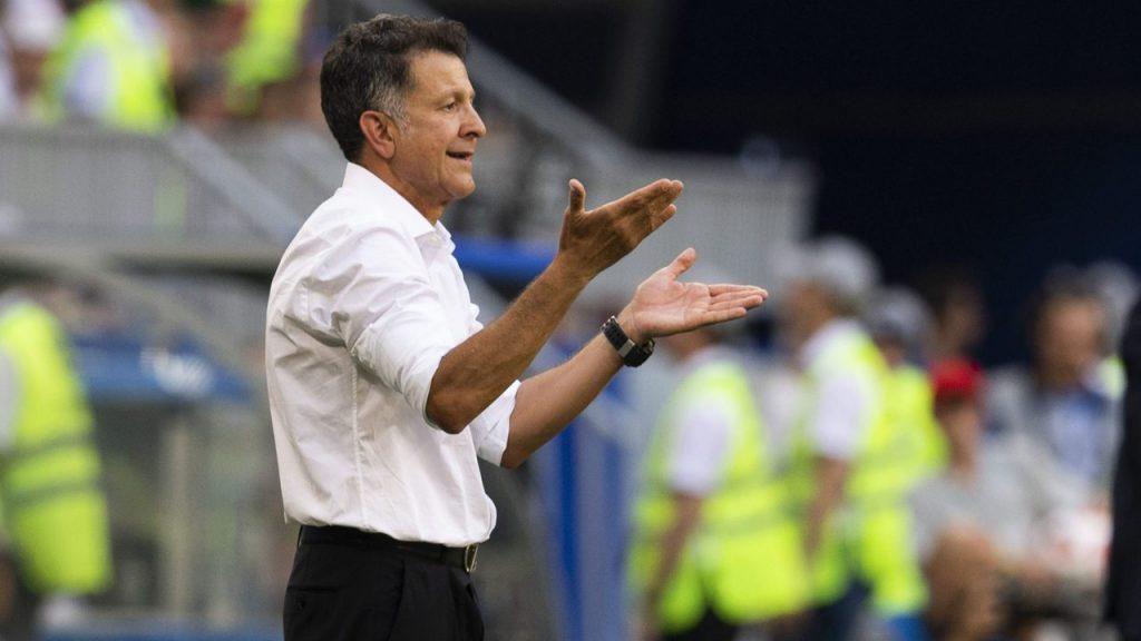 Juan Carlos Osorio, en el partido contra Brasil en Rusia 2018, su último al frente de México.(Foto: Mexsport)