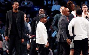 Kevin Durant ya se recuperó de su lesión e incluso del coronavirus, pero no jugará con Nets. (Foto: EFE)