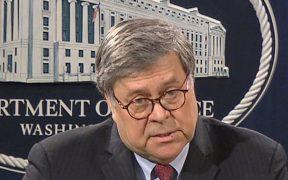 """Barr dice que """"no hay racismo sistemático"""" en las fuerzas de seguridad estadounidenses"""