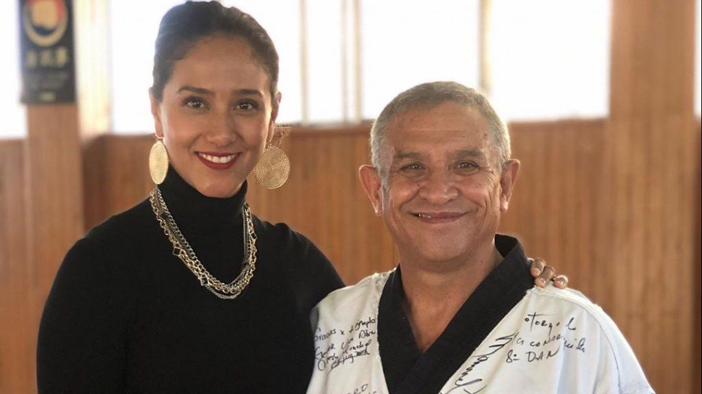 Iridia Salazar informó que el estado de salud de su padre es delicado. (Foto: Instagram)