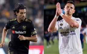 Carlos Vela y Chicharito se enfrentarán en el torneo de la MLS en Orlando.