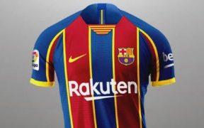 Este sería el uniforme que estrenará el Barcelona ante el Espanyol.