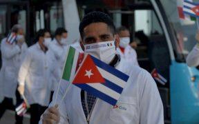 Médicos cubanos trabajaron indocumentados