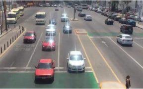 circulación vehicular Puebla