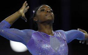 Simone Biles se unió a los más de 140 atletas en una demanda por abuso sexual. (Foto: EFE)
