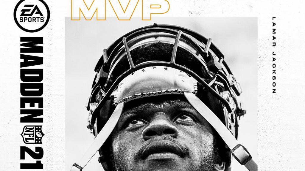 EA Sports reveló la portada del Madden 21, con Lamar Jackson en la portada. (Foto: EA Sports)