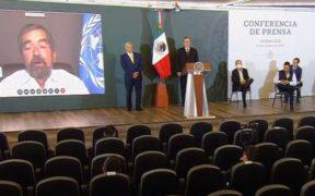 Juan Ramón de la Fuente, represente de México ante la ONU. Foto: Especial