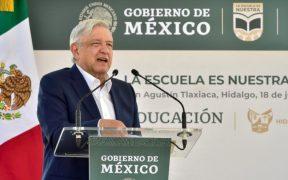 El presidente Andrés Manuel López Obrador dijo que nunca se va a quejar porque lo insulten. Foto: Presidencia