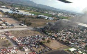 La tarde del sábado, se registró una jornada violenta en diferentes puntos del municipio de Celaya. Foto: Twitter